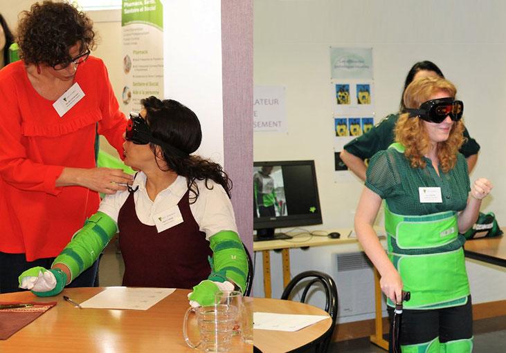 Atelier découverte : simulateur de vieillissement à l'ACPPAV