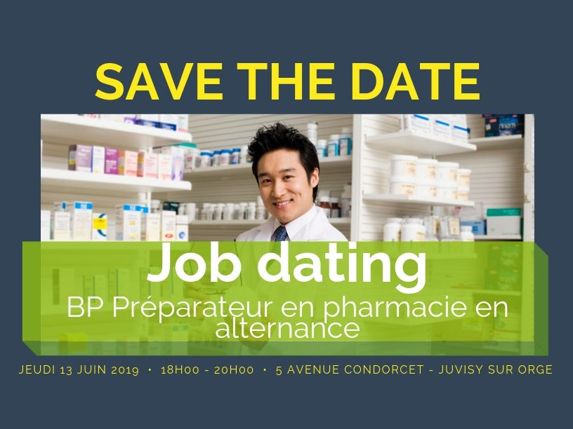 Job Dating BP Préparateur en Pharmacie