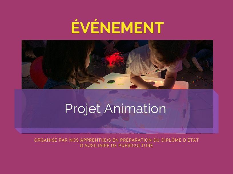 Projet animation 2019 des apprenti(e)s auxiliaires de puériculture