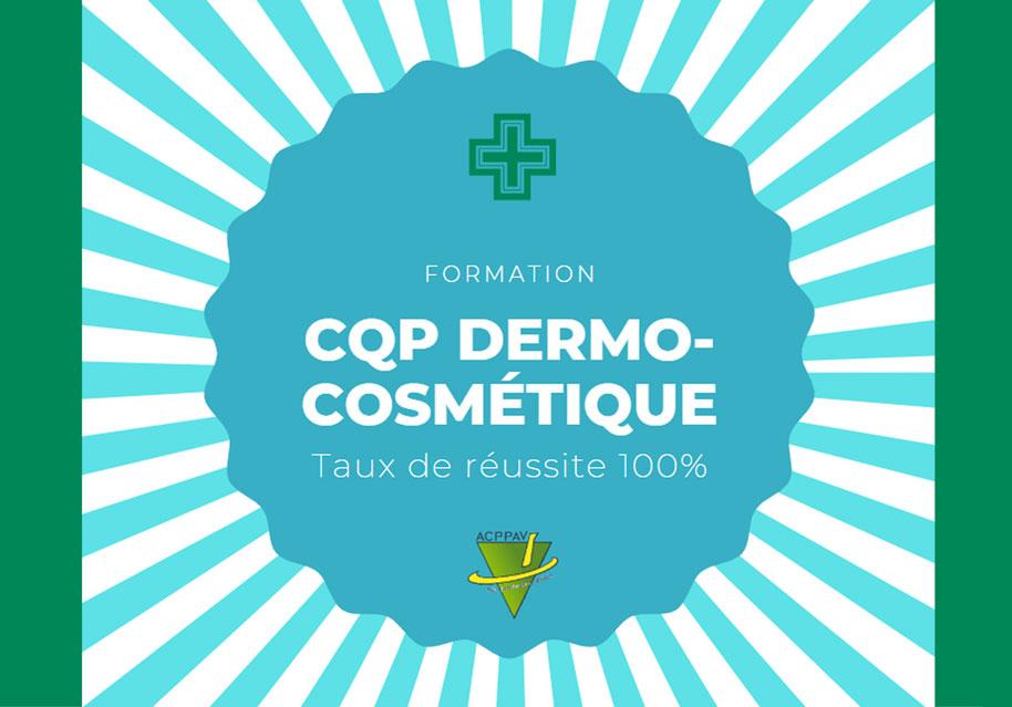 Formation CQP Dermo Cosmétique par alternance