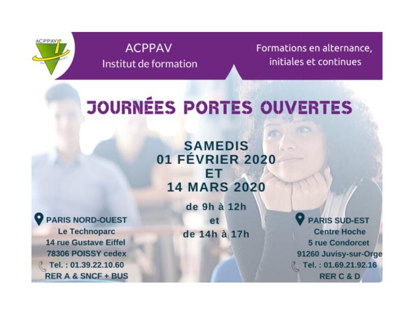 Journées Portes Ouvertes : save the dates