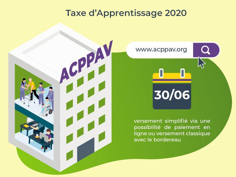 Versement de la taxe d'apprentissage 2020