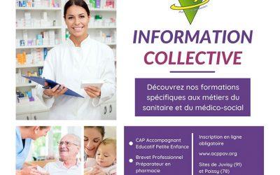 Sessions d'information collectives à l'ACPPAV
