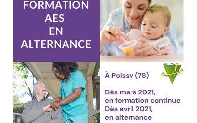 La formation DEAES accessible sur le site de Poissy