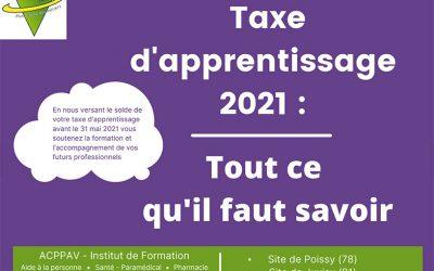 Taxe d'apprentissage 2021 : tout ce qu'il faut savoir